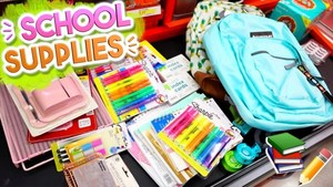 7-12 School Supplies