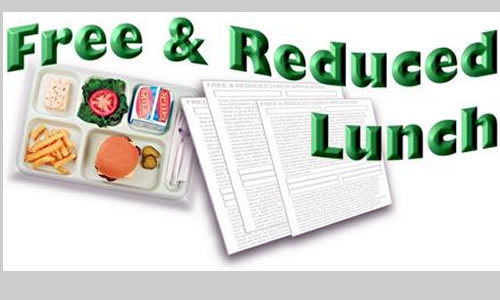 Free and reduced lunch applications