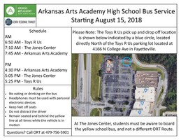 New Bus Route for 7-12 Students