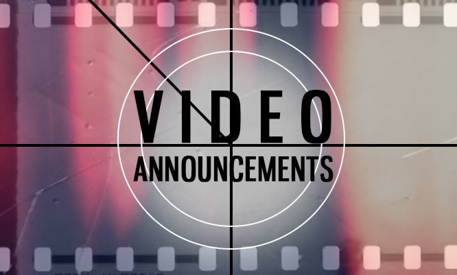 7-12 Video Announcements!