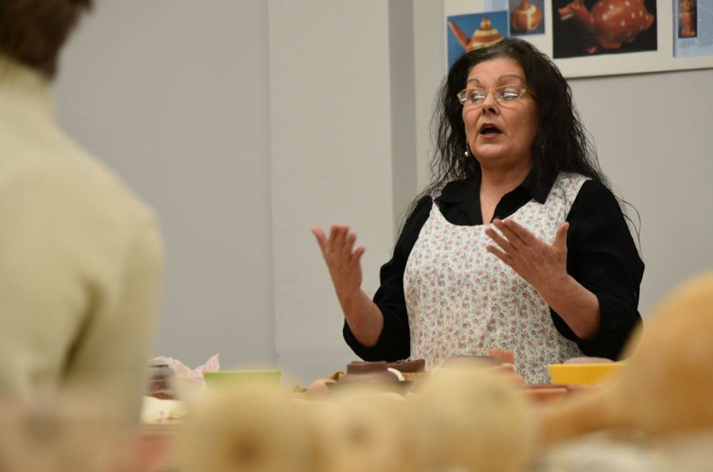 Quapaw Artist Offers Cereamic Workshop for AAA Students