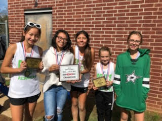 3 Junior High Girls Named All-Region in Cross Country