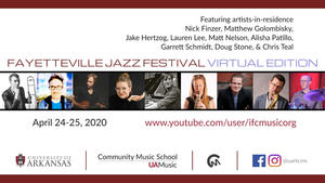Teacher, Chris Teal featured in Fayetteville Jazz Festival