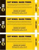 Eat Wings and Help Our School