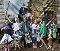 AAA 1st and 2nd Grades visit the Shiloh Museum for Arkansas Symbols Day