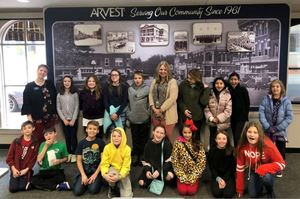 AAA 5th Grade Students visit the Walmart Museum