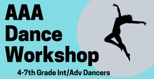 Dance Workshop January 25th
