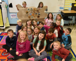 1st Grade Celebrate National Native American Heritage Month