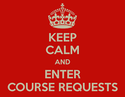 Course Request Instructions