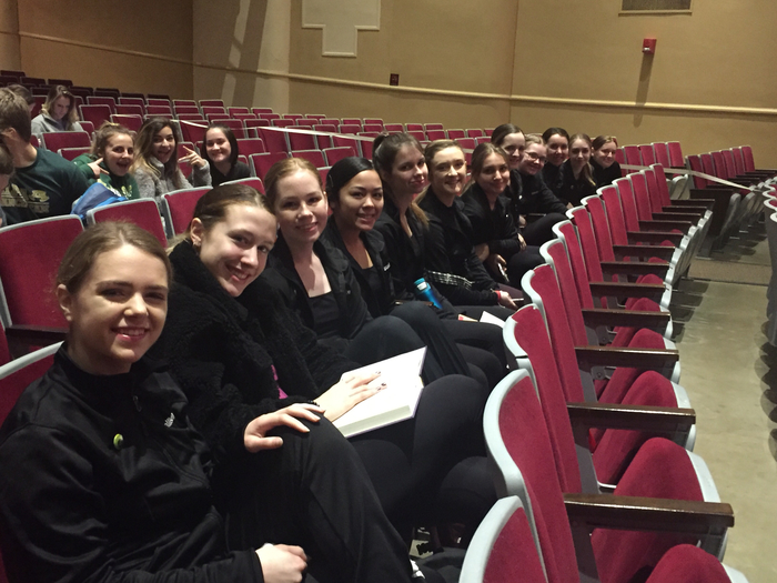 Equilibrium at Arkansas High School Dance Festival