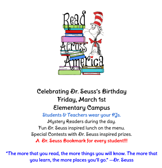 Dr. Seuss's Birthday