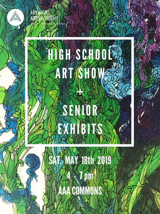 Don't miss the chance to see all the amazing artwork the HS visual art students have been working on this year!! Hundreds of pieces of art and senior exhibits will be on display in the HS commons on Saturday May 18th,4-7pm!! Free admission and refreshments too!!  You also have the chance to catch a Rockhopper concert before, @2pm, or after the art show, @7pm!!