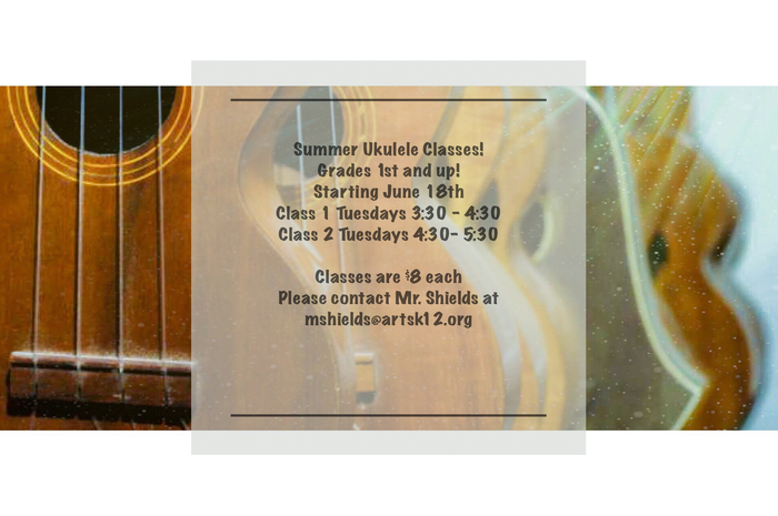 Summer Ukulele Classes!