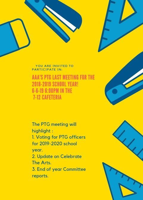 PTG June Meeting Flyer