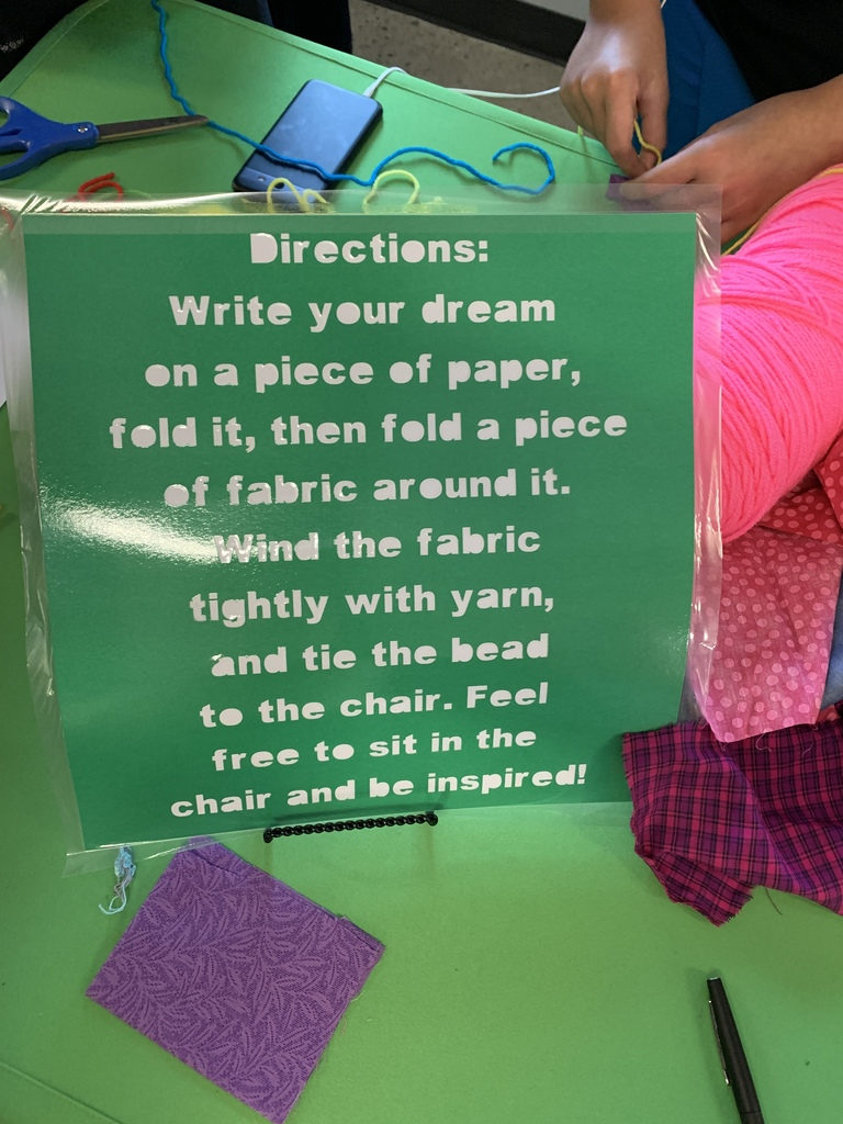 Dream Chair Instructions
