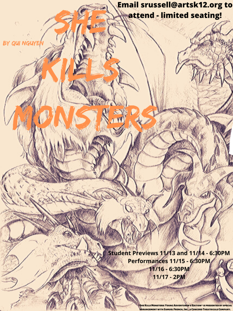 """She Kills Monsters"" High School Theatre Presentation"