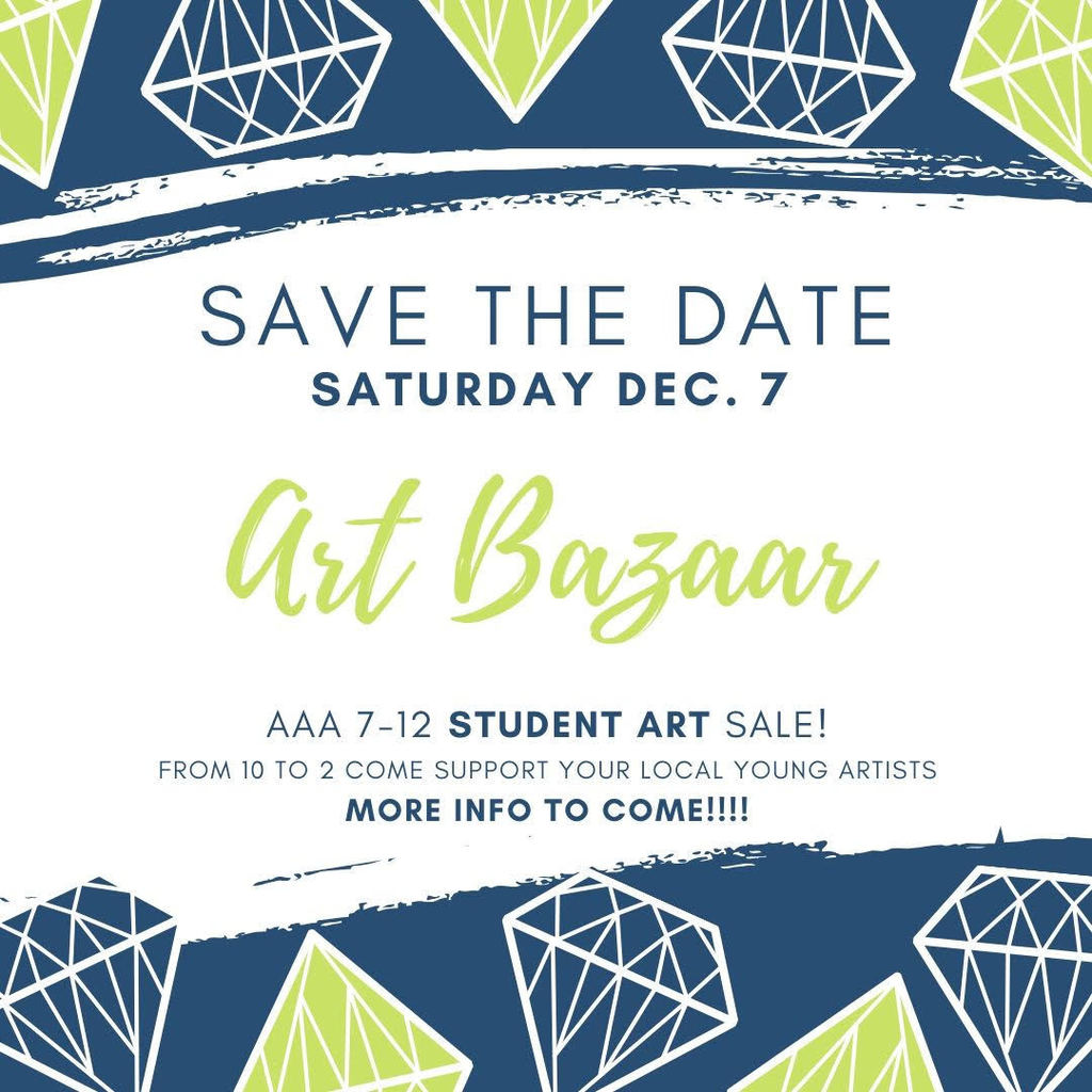 Art bazaar flyer