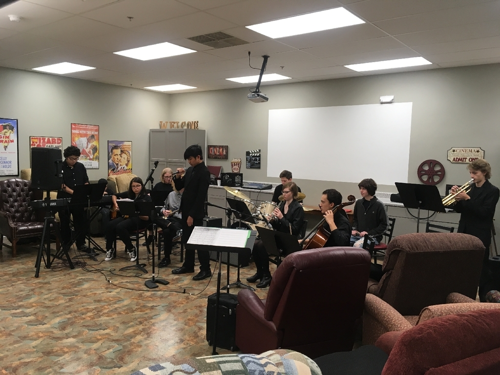 Jazz Ensemble Performing